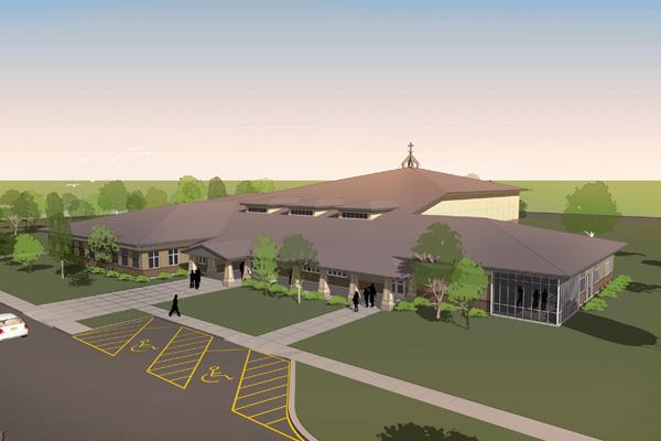 Prairie Style Church Design