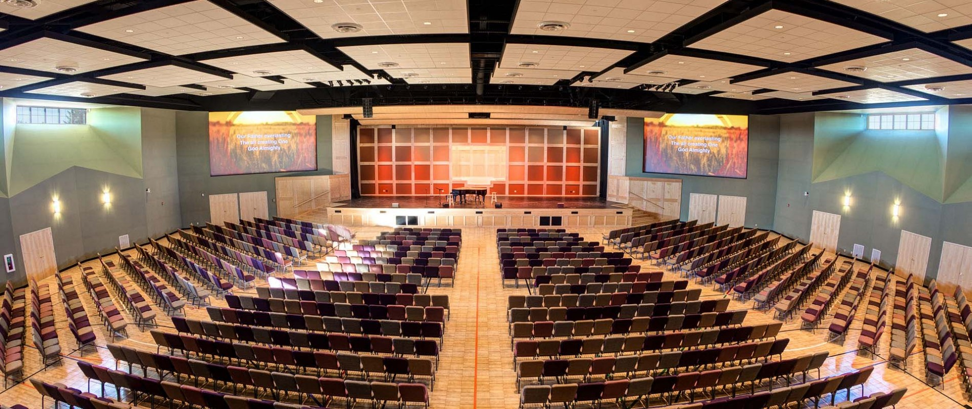 Church Auditorium Architectural Design
