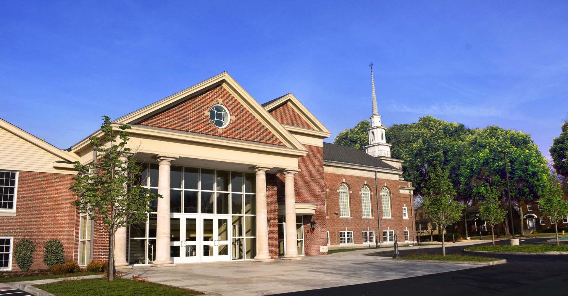 South Park Church Entrance