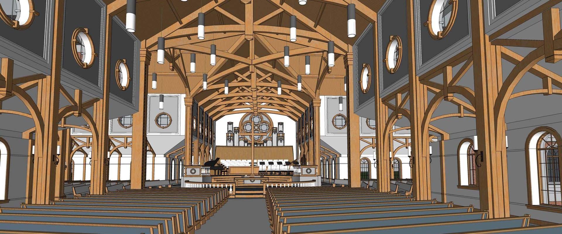 Traditional Church Sanctuary