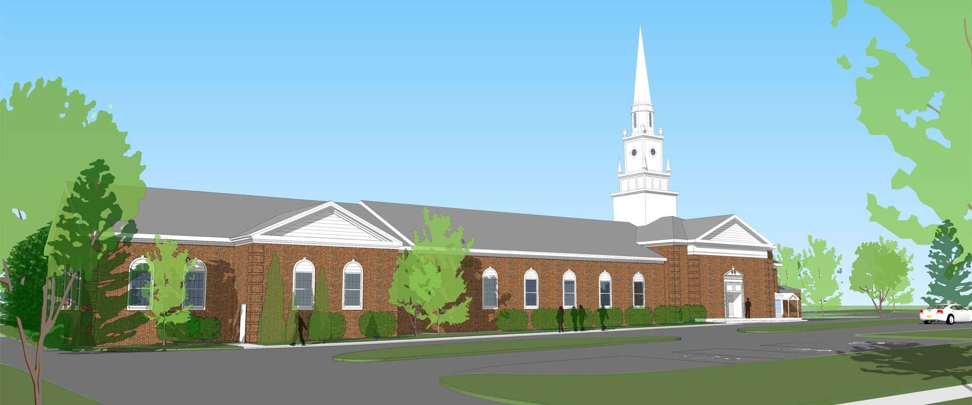 Colonial Church Design