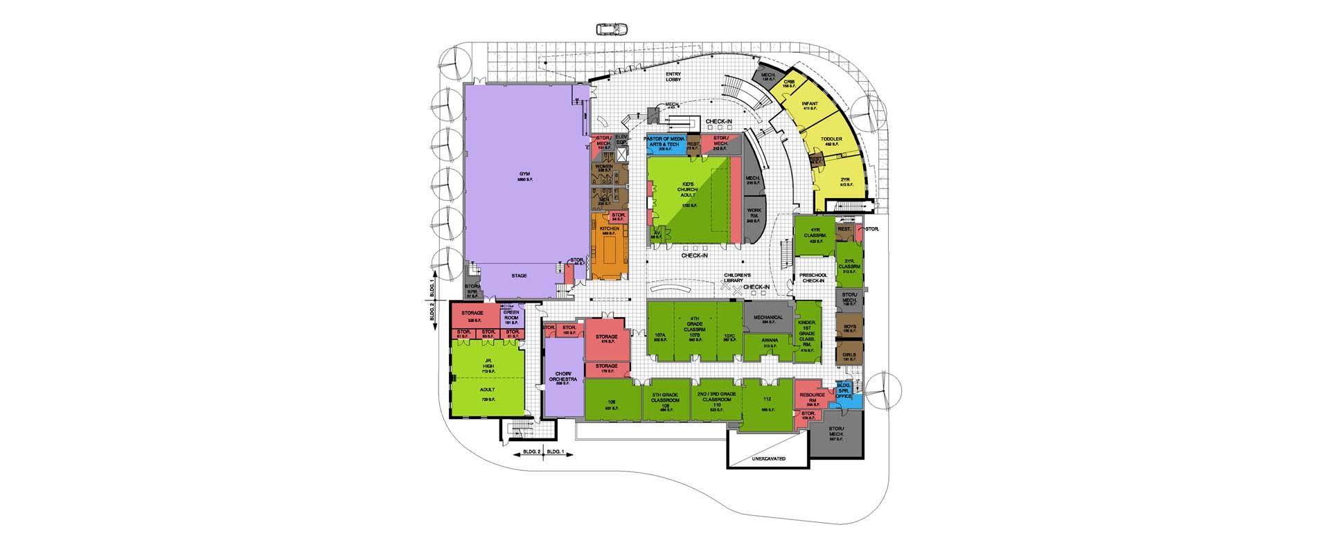 Church Remodel Plans