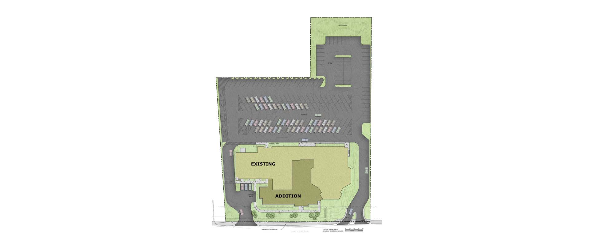 Church Office Addition Architectural Plan