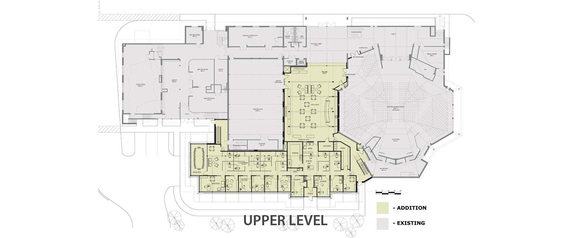 Office Addition Architectural Plan