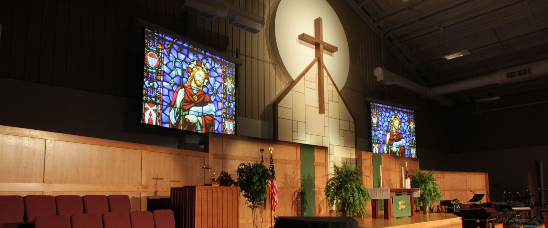 Church Sanctuary Stage