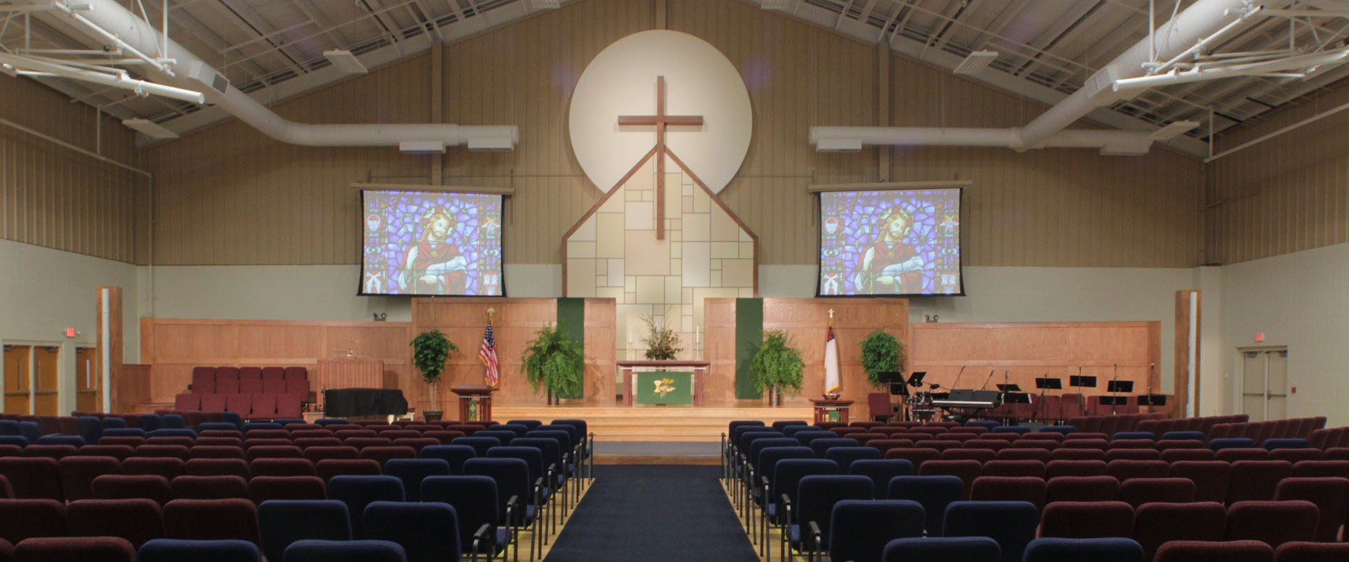 Church Sanctuary Stage